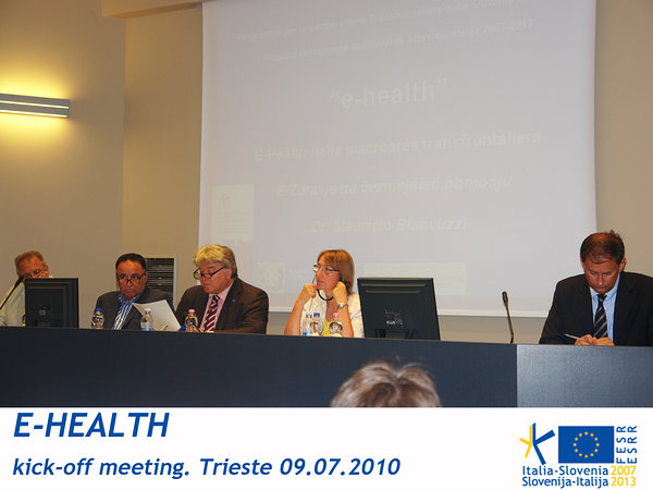 E-HEALTH - kick-off meeting 09.07.2010 picture